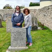 Rabbi Neil Kraft and his wife Susannah Kraft